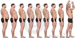 Сбросить вес мужчине