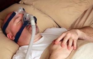 Маска для подачи кислорода (используется при апноэ)